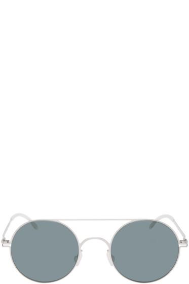 Mykita - Silver Polarized Touho Sunglasses
