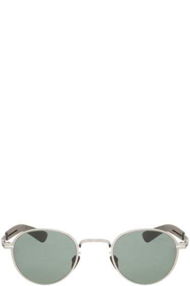 Mykita - Silver Hybrid Quince Optical Glasses