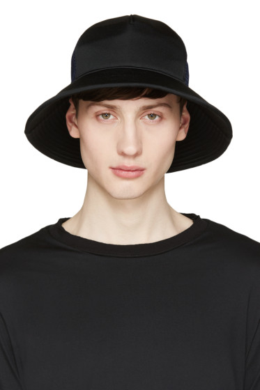 Facetasm - Black & Navy Mesh Bucket Hat
