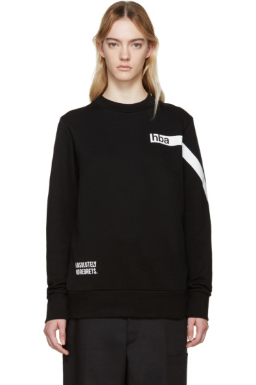 Hood by Air - Black Nothing Pullover
