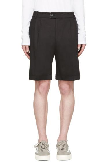 Giuliano Fujiwara - Black Twill Shorts