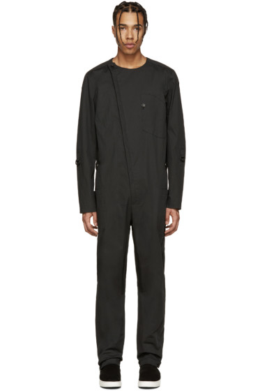 Alexandre Plokhov - Black Cotton Jumpsuit