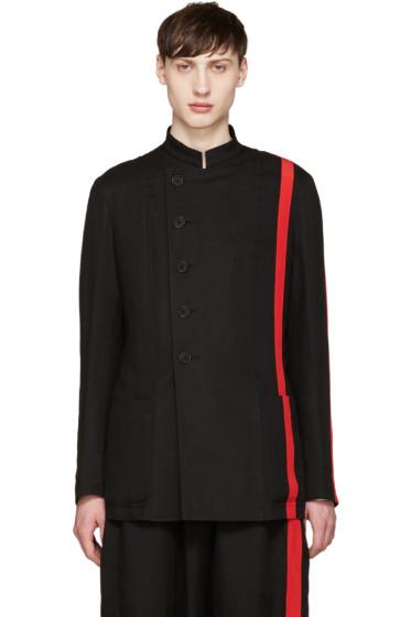 Yohji Yamamoto - Black & Red Blazer