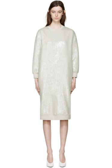 Ashish - Green Sequin Pullover Dress