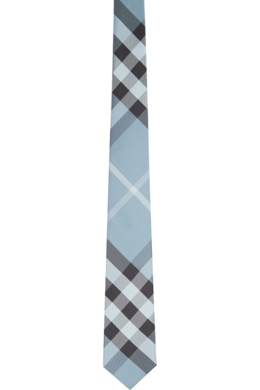Burberry London - Blue Check Manston Tie