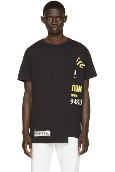 Off-White - Black Half Truck T-Shirt