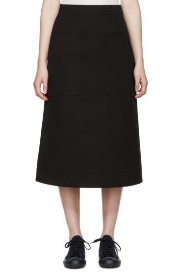 Studio Nicholson - Black Cordusio Utility Skirt