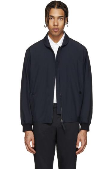 Lemaire - Navy Zip-Up Jacket
