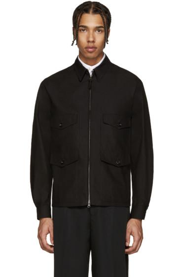 Lemaire - Black Four Pocket Jacket