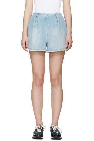 Edit - Blue Denim Shorts