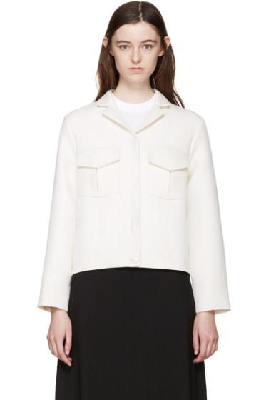 Harmony - Off-White Cropped Jacket