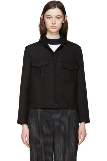 Harmony - Black Crop Jacket