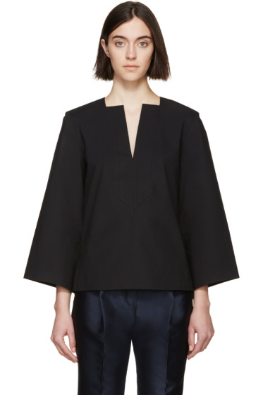 Totême - Black Biella Shirt