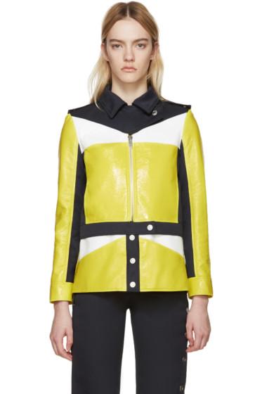 Courrèges - Tricolor Patent & Twill Jacket