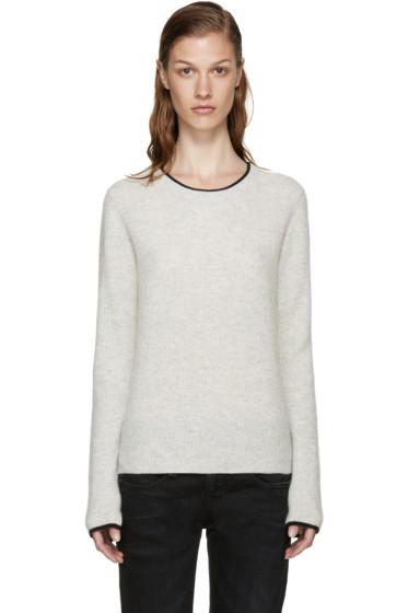 Rag & Bone - Grey Cashmere Lilianna Sweater