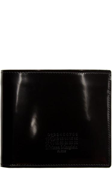 Maison Margiela - Black Patent Leather Wallet