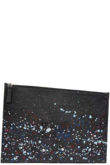Maison Margiela - Black Paint Splatter Document Holder