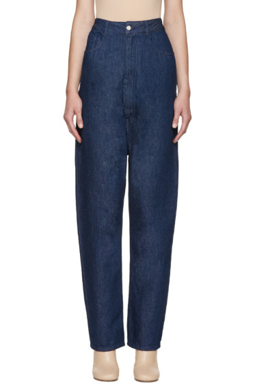 MM6 Maison Margiela - Indigo High-Rise Jeans