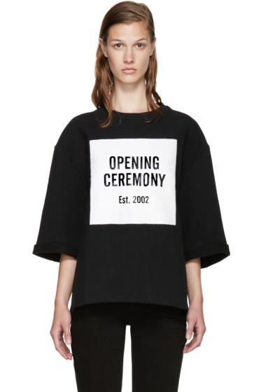 Opening Ceremony - Black Logo Sweatshirt