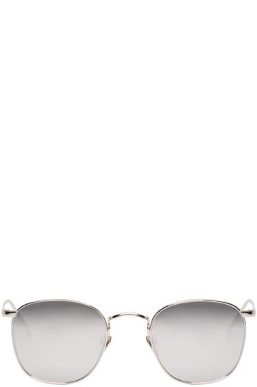 Linda Farrow Luxe - Silver Square Sunglasses