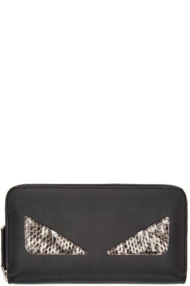 Fendi - Black Long 2Jours Wallet