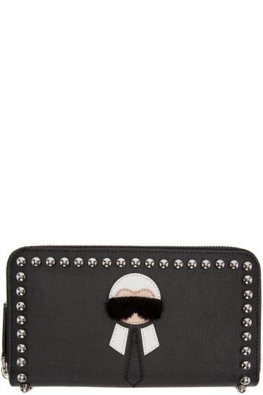 Fendi - Black Karlito Wallet