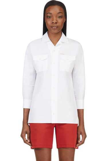 Dsquared2 - White Termo Safari Blouse