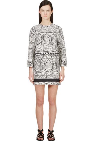 Giambattista Valli - White Embroidery Print Dress