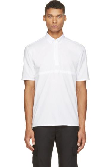 Krisvanassche - White Tie-Tuck Shirt