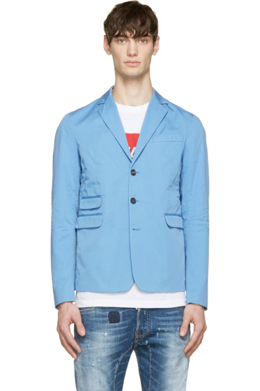 Dsquared2 - Blue Cotton School Boy Blazer