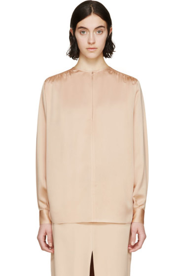 Stella McCartney - Pink Silk Blouse