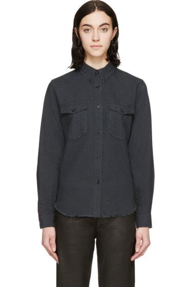 Isabel Marant - Washed Black Twill Bastien Shirt