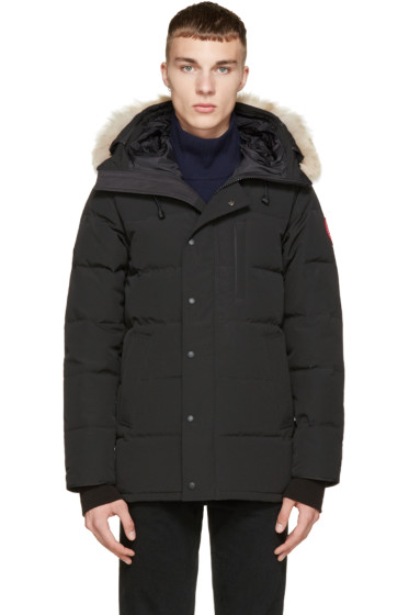 Canada Goose - Black Down & Fur Black Label Carson Parka