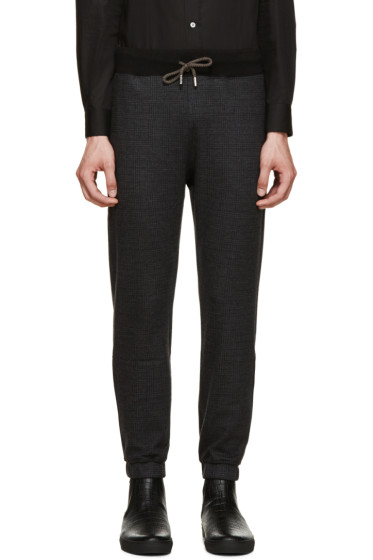 Christopher Kane - Grey Wool Drawstring Lounge Pants