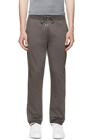 Christopher Kane - Grey French Terry Lounge Pants