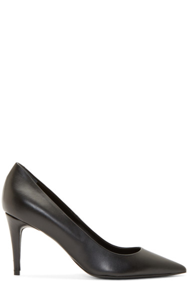 Alexander Wang - Black Leather Andy Pumps