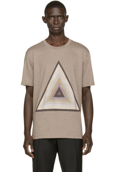 Paul Smith - Grey Pyramid Print T-Shirt