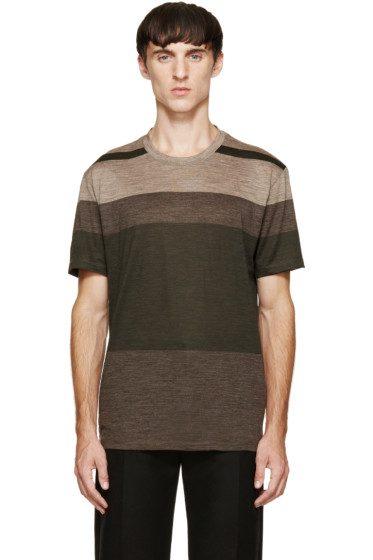 Paul Smith - Tricolor Striped T-Shirt