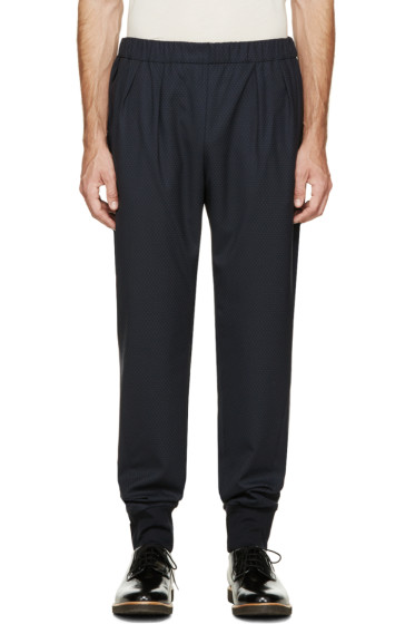 Paul Smith - Navy Patterned Pants