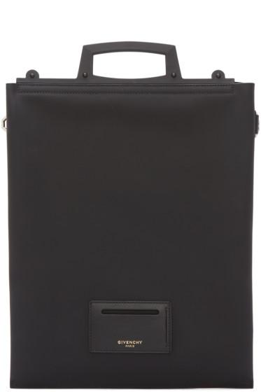 Givenchy - Black Leather Document Holder
