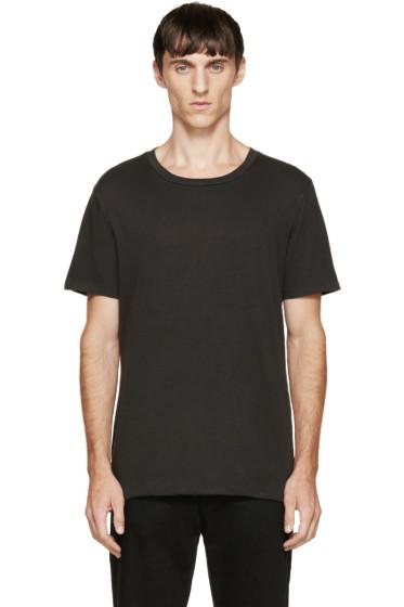 BLK DNM - Black Zipper T-Shirt