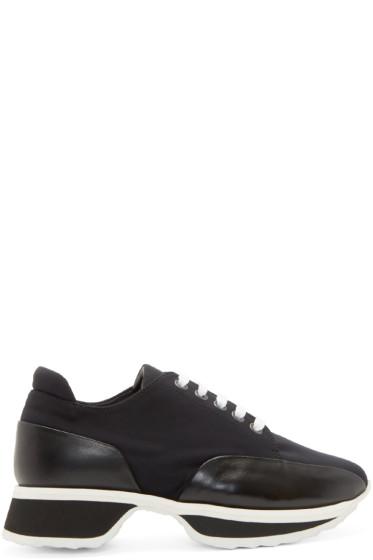 Pierre Hardy - Black Neoprene Turbo Sneakers
