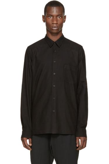 Ann Demeulemeester - Black Flannel Shirt