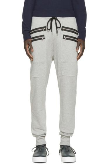 Markus Lupfer - Grey Zippered Lounge Pants