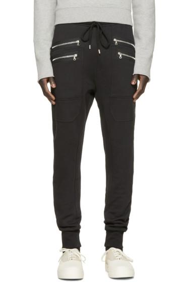 Markus Lupfer - Black Zipper Lounge Pants