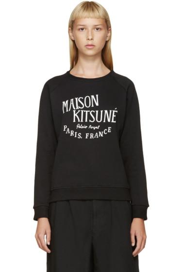 Maison Kitsuné - Black 'Palais Royal' Pullover