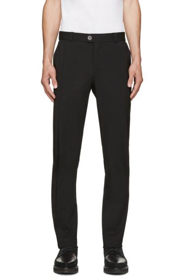 Versus - Black Pleated Trousers