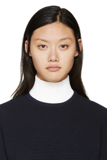 Cédric Charlier - White Ribbed Dickie