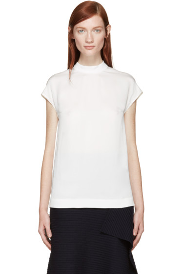 Stella McCartney - White Cap Sleeve Blouse