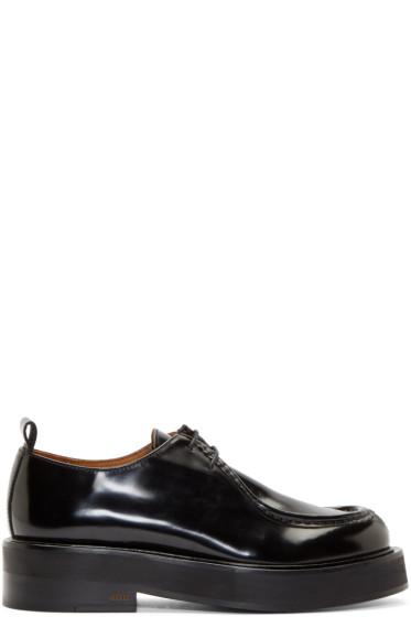 AMI Alexandre Mattiussi - Black Leather Shoes